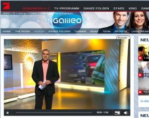 Reportaje TV Alemana